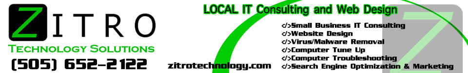 Zitro Technology Solutions | IT Consulting and Website Design in Las Vegas, NM